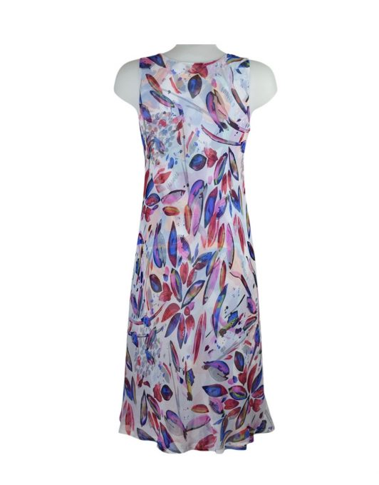 paramour 2in1 sleeveless floral blue