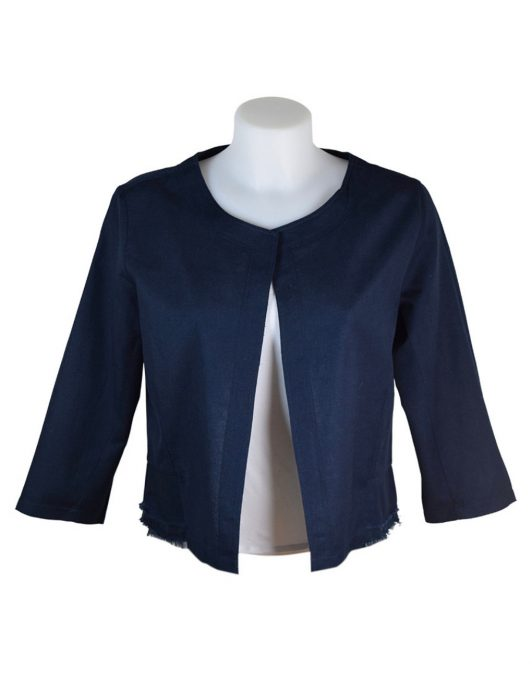Alice Collins Grace Jacket Navy Front