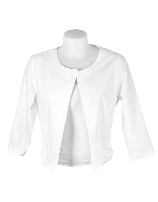 Alice Collins Grace Jacket White Front