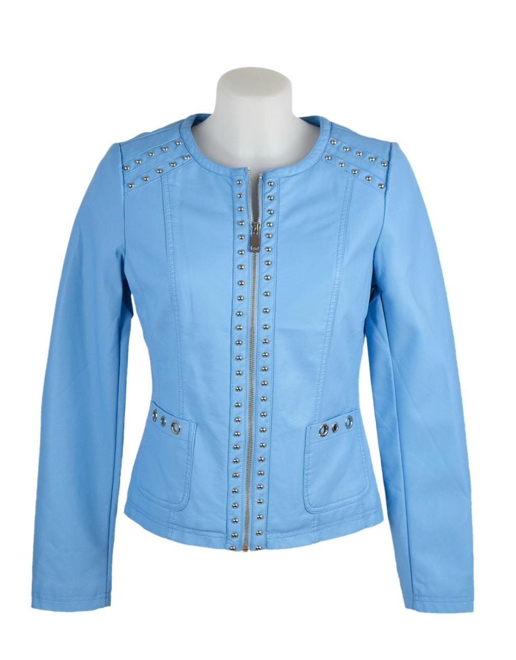 escandelle paris jacket bright blue