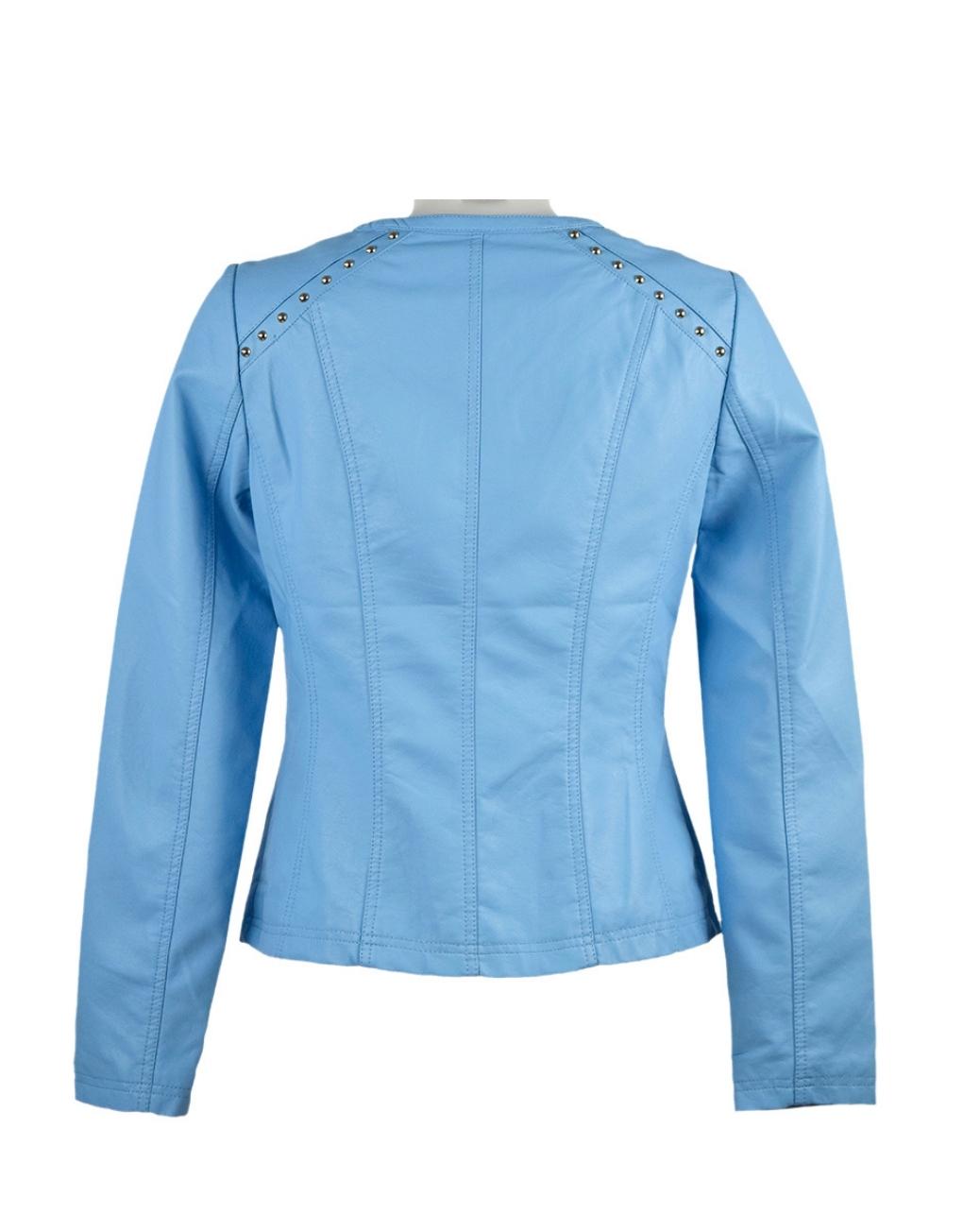 escandelle paris jacket bright blue b